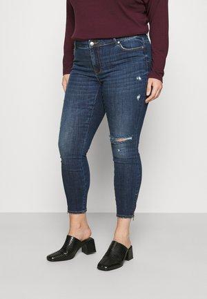 VMTILDE  - Jeans Skinny - dark blue denim
