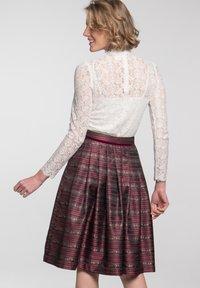 Spieth & Wensky - A-line skirt - dunkelrot - 1