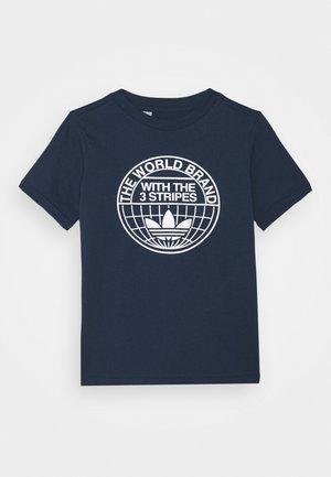 CAMO LOGO UNISEX - Print T-shirt - dark blue