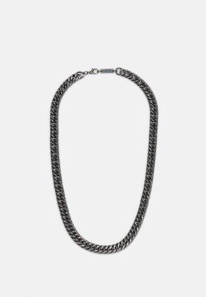 HEAVY LINK NECKLACE - Necklace - gunmetal
