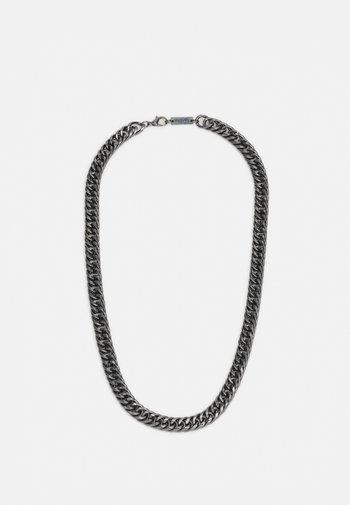 HEAVY LINK NECKLACE - Halsband - gunmetal