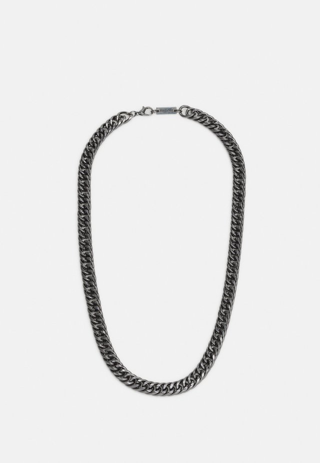 HEAVY LINK NECKLACE - Necklace - gunmetal