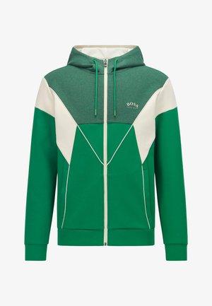 SAGGY  - Zip-up sweatshirt - green