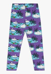 Småfolk - SWAN - Leggings - Trousers - purple heart - 1
