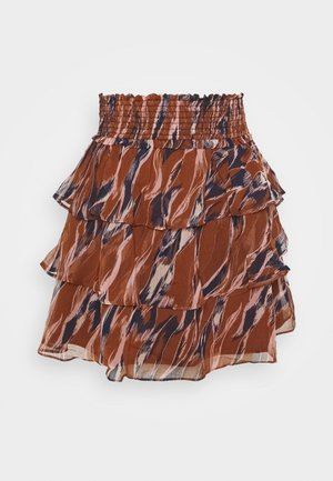 YASASTEA SKIRT - Mini skirt - brown