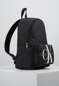 Calvin Klein Jeans - MONOGRAM CAMPUS BACKPACK  - Rugzak - black - 4
