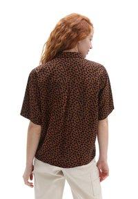 Vans - WM WILD WOVEN - Button-down blouse - argan oil - 1