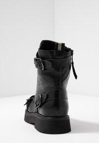 MJUS - Kovbojské/motorkářské boty - nero - 5