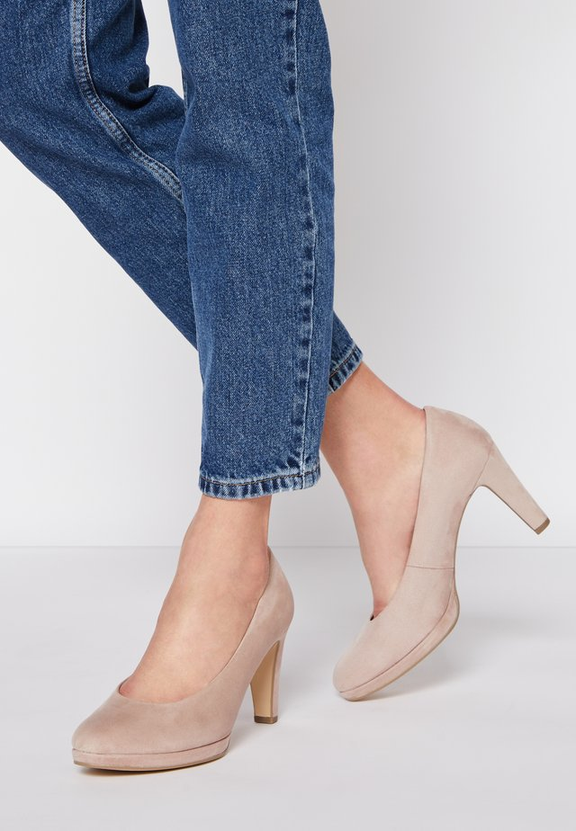High heels - antik rosa