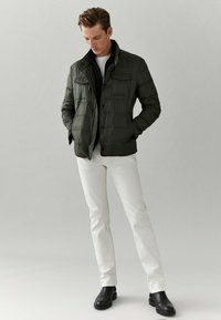 Massimo Dutti - Down jacket - green - 1