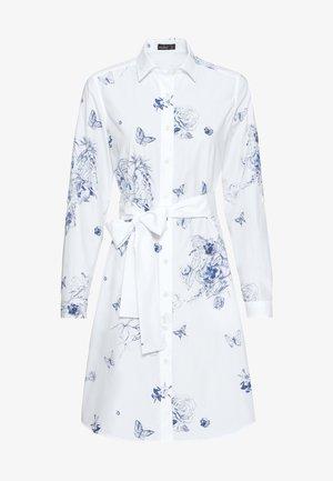 Shirt dress - blanc
