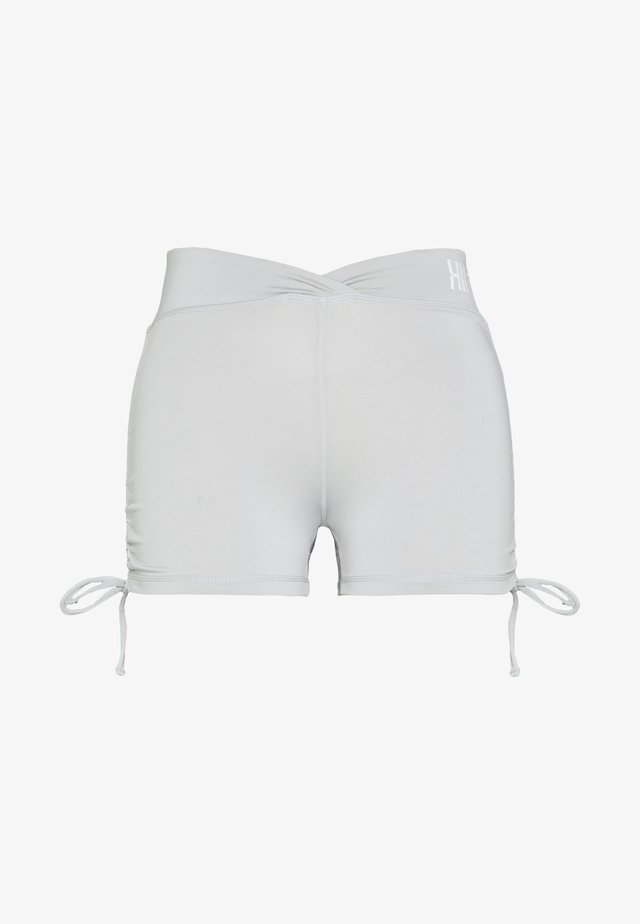 LUCKY RUCHED SHORT - Legginsy - mid grey