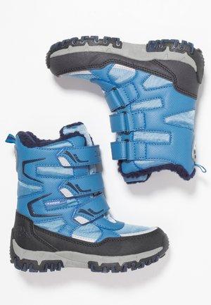GREAT TEX  - Winter boots - midblue/navy