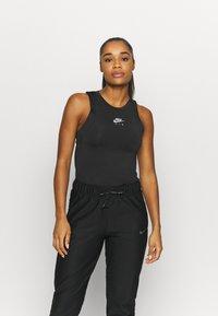 Nike Performance - AIR TANK - Camiseta de deporte - black/silver - 2