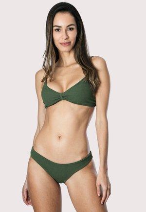 TEXTURIZED - Bikini bottoms - green