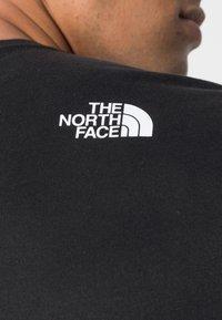 The North Face - FINE TEE  - Långärmad tröja - black/white - 4