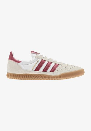 INDOOR SUPER - Trainers - white/burgundy