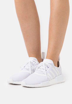 NMD_R1 PRIMEBLUE ORIGINAL SHOES - Sneaker low - footwear white/silver metallic