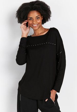 PETITE  - Long sleeved top - black