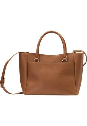 HENKELTASCHE - Handbag - cognac