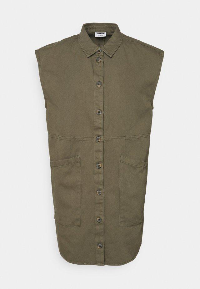 NMALMA CAPSLEEVE DRESS - Shirt dress - kalamata
