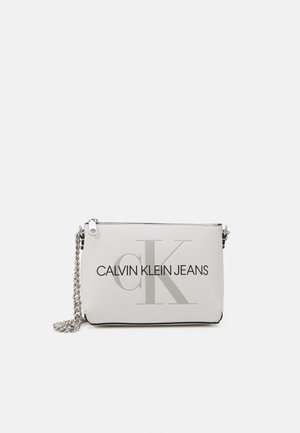 CAMERA POUCH CHAIN - Across body bag - white