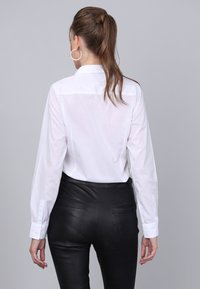 Basics and More - Button-down blouse - white - 1