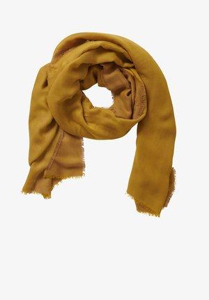 Sjaal - camel/yellow