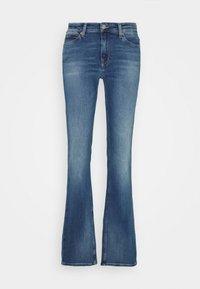 Tommy Jeans - MADDIE BOOTCUT - Džíny Bootcut - evelin mid blue comfort - 4