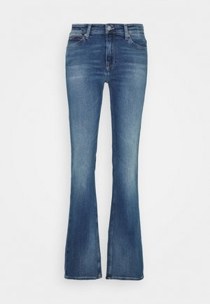 MADDIE BOOTCUT - Bootcut jeans - evelin mid blue comfort