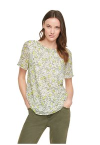 comma casual identity - Blouse - offwhite leaf - 1
