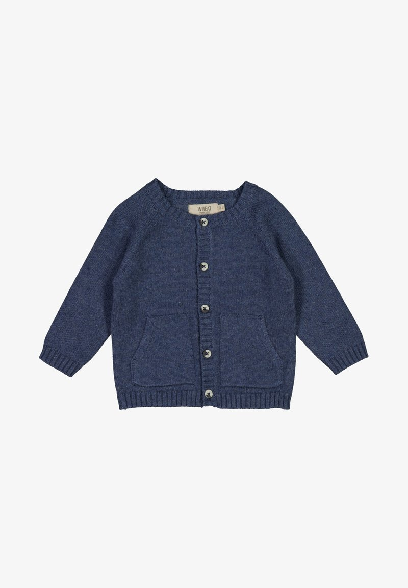 Wheat - CLASSIC - Cardigan - blue melange
