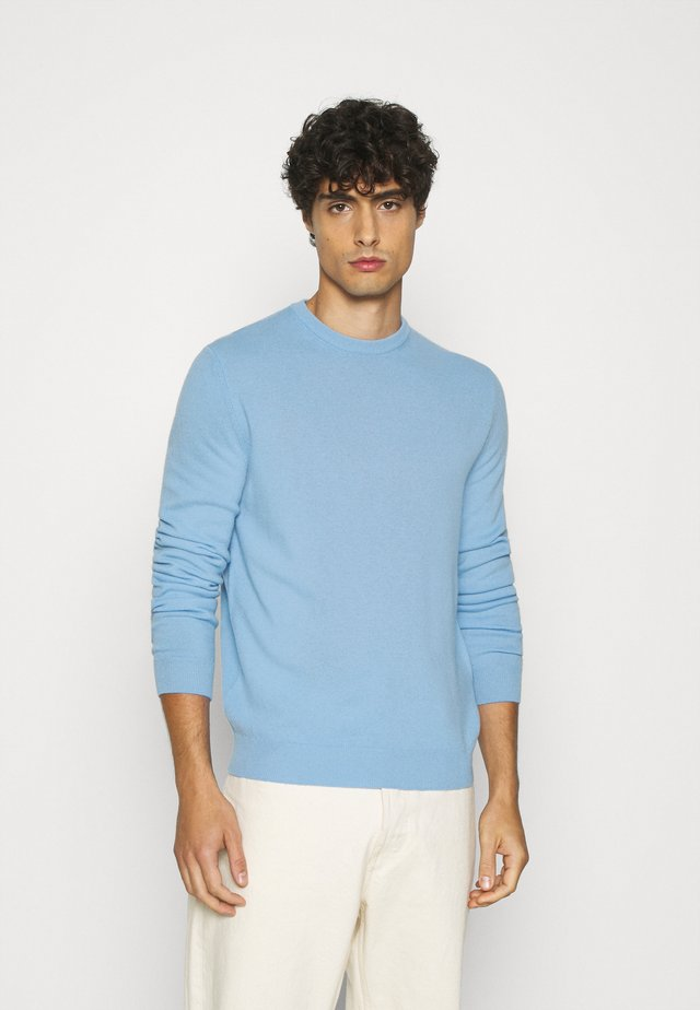 BASIC CREWNECK - Sweter - light blue