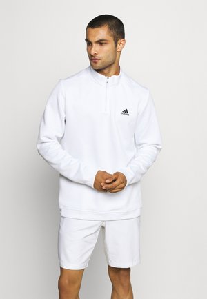 1/4 ZIP - Pitkähihainen paita - white