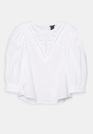BLOUSE ANNELI - Bluser - white