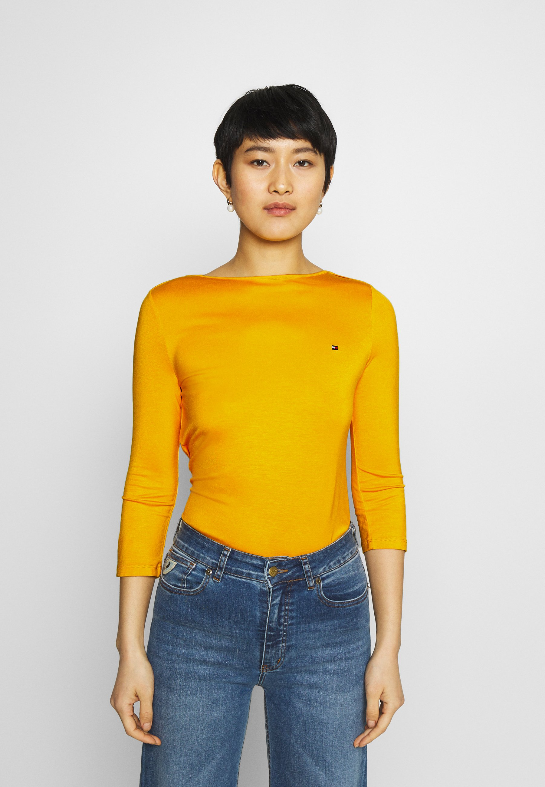 Women BOAT NECK TEE 3/4 - Long sleeved top