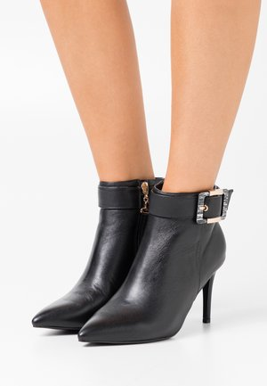 JULIET - High heeled ankle boots - black