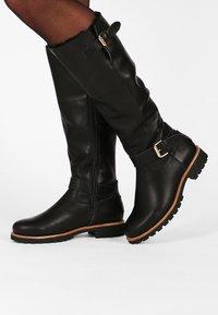 Panama Jack - AMBERES IGLOO TRAVELLING - Vysoká obuv - black - 0
