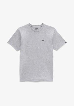 T-shirt med print - athletic heather/black