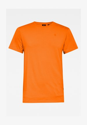 BASE-S - T-shirt basique - bright carrot htr
