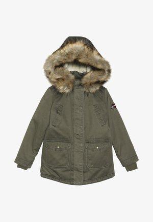 HYDRA - Zimní kabát - brass