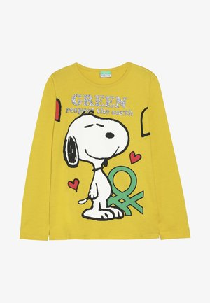 LONG SLEEVES  - Maglietta a manica lunga - yellow