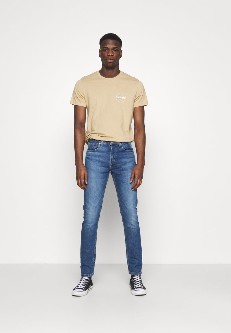 Levi's® - CREWNECK GRAPHIC 2 PACK - T-shirts med print - forest biome/curds and whey