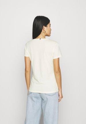 NEW CREW NECK TEE - T-shirt basic - frosted lemon