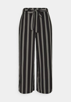 PCKELLIE CULOTTE ANKLE PANT - Trousers - black