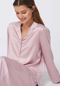 OYSHO - MINI HEARTS  - Pyjama bottoms - rose - 4
