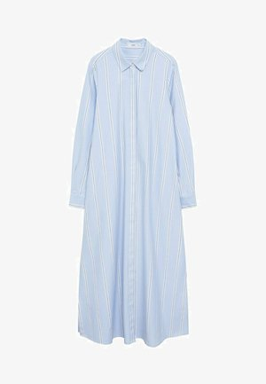 FACTORY - Robe chemise - blå