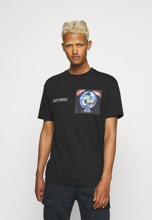 DEEP PURPLE TEE - T-shirt imprimé - black