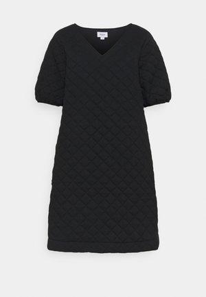 ESMA QUILT DRESS - Vestido informal - black