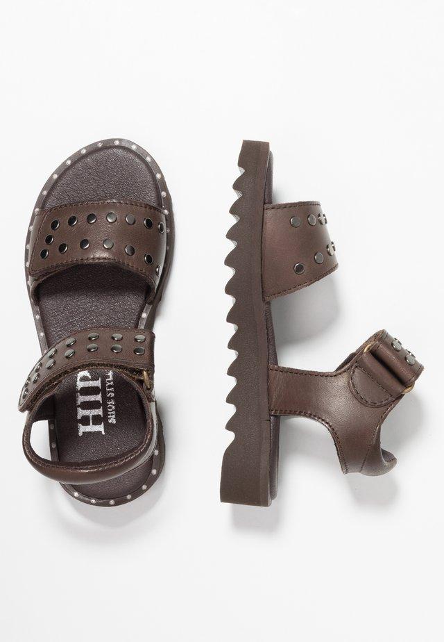 Sandály - dark brown